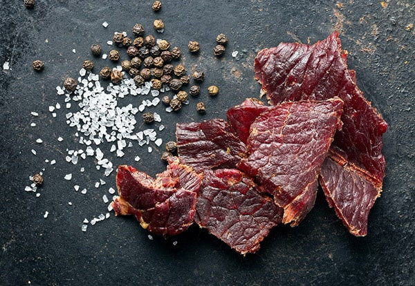 Efeito do armazenamento na textura: carne